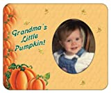 Grandma's Little Pumpkin - Halloween Photo Magnet Frame