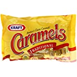 Kraft Caramels, Traditional, 11-Ounce Bags (Pack of 12)