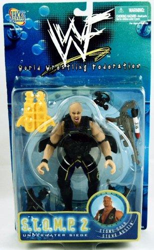 Buy Low Price Jakks Pacific WWF – S.T.O.M.P. 2 – Underwater Siege – Stone Cold Steve Austin figure (B001BC2TVE)