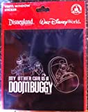 Disney Park My Other Car is a Doom Buggy Haunted Mansion Vinyl Sticker Decal NEW
