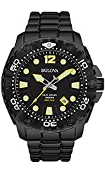 Bulova Men's Sea King - 98B242 Black Watch