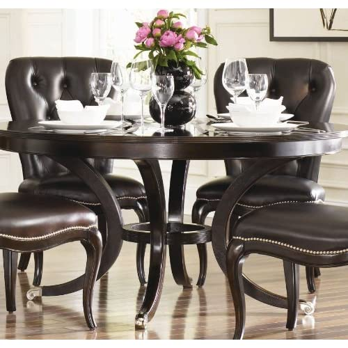 American drew sonata round table 72 dining for Dining room tables on amazon