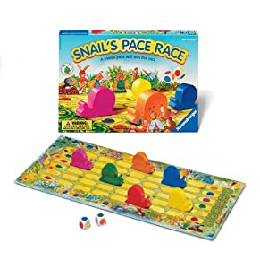Ravensburger Snails Pace Race - Children's Game