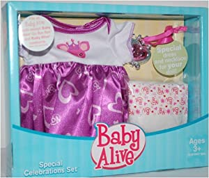 Amazon Baby Alive Special Celebrations Set Toys & Games