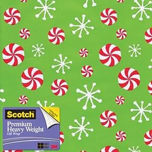 Scotch  Gift Wrap, Icon Mix Pattern, 25-Square Feet, 30-Inch x 10-Feet (AM-WPIM-12)