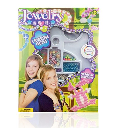 DIY Creations® Bracelet Jewelry Making Kit Make Your Own Colorful Bracelet DIY-8803 - 1