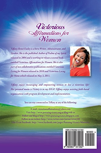 Victorious Affirmations For Women