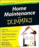 Home Maintenance For Dummies (For Dummies (Home & Garden)) - 047043063X