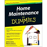 Home Maintenance For Dummies ~ James Carey