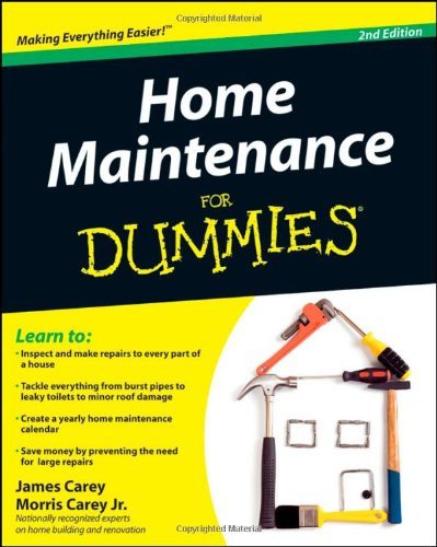 Home Maintenance For Dummies (For Dummies (Home & Garden)) - For Dummies - 047043063X - ISBN: 047043063X - ISBN-13: 9780470430637