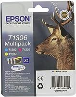 Epson T1306 Multipack Cartouche d'encre d'origine 1 x cyan, magenta, jaune