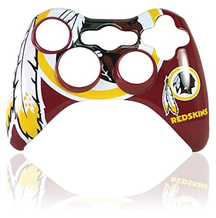 Xbox 360 Official NFL Washington Redskins Controller Faceplate