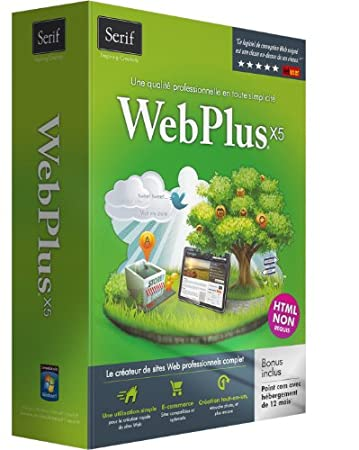 Serif WebPlus X5 - English and French (bilingual software)