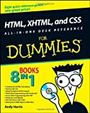 img - for HTML, XHTML, and CSS All-in-One Desk Reference For Dummies by Harris, Andy, McCulloh, Chris (2008) Paperback book / textbook / text book