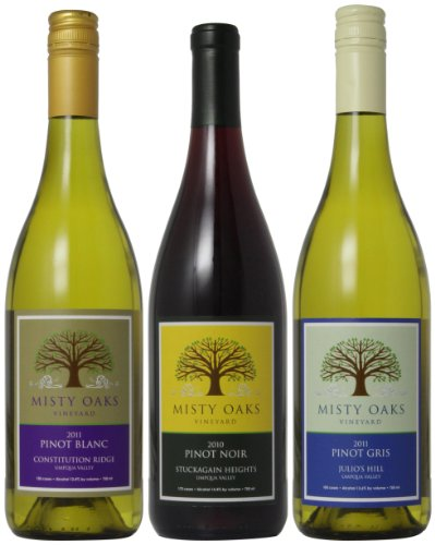 Misty Oaks Three Variations Of Pinot Mixed Pack, 3 X 750 Ml