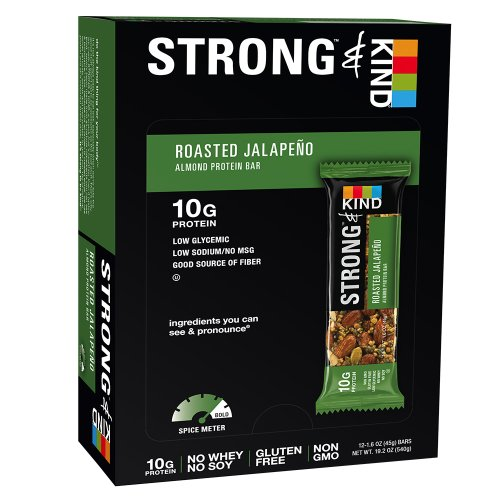 Strong & Kind Roasted Jalapeno, 1.6Oz. 12 Count