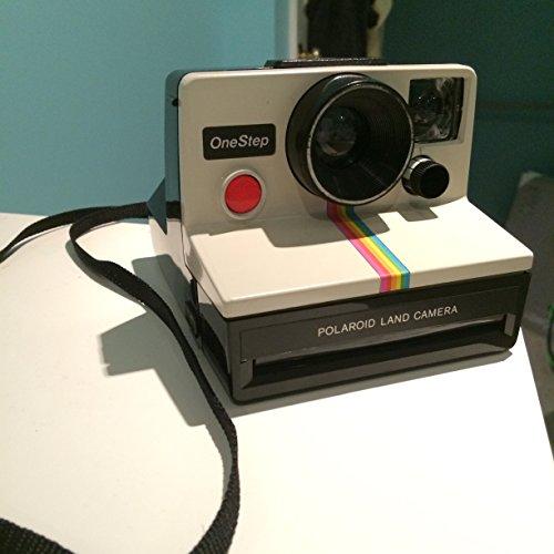 Polaroid OneStep SX-70 White/Rainbow Camera