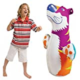 Hit Me Intex Children's Kids Cartoon Inflatable 3D Punching Bop Bag - For Age 3+ (Colours & Cartoon Character...