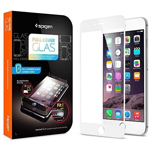 iPhone6 全面強化ガラスフィルム, Spigen®  發油加工