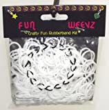 Fun Weevz Loom Bands Rubberband Kit-White