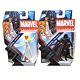 Cloak and Dagger Marvel Knights Marvel Universe #017 Action Figures