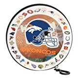 Denver Broncos CD / DVD / Game Carrying Case (Holds 24 CD's)