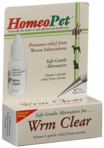 Homeo Pet Wrm Clear -- 0.08 Fl Oz