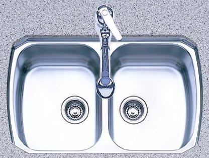 Genial Oliveri 863U Stainless Steel Sink, Double Equal Basins, Down Undermount  Reviews