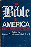 img - for The Bible in America: Essays in Cultural History book / textbook / text book