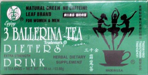 3 BALLERINA THE DIETETIQUE -18 sachets de thé