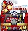 Marvel Iron Man 3 Minimates Skeleton Armor and Silver Centurion Exclusive