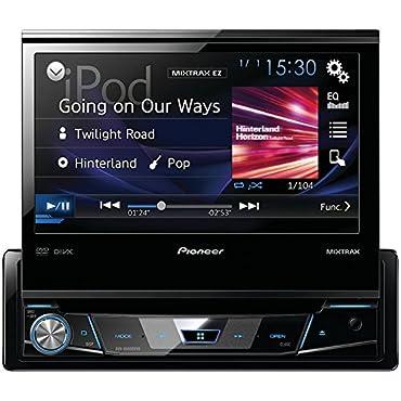 Pioneer AVH-X6800DVD 1-Din 7 LCD DVD/CD Car Monitor/Player/Receiver