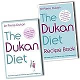 Pierre Dukan 2 Diet Books Collection Pack Set RRP: �28.68 (The Dukan Diet Recipe Book, The Dukan Diet)by Pierre Dukan