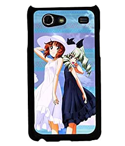 Printvisa 2D Printed Girly Designer back case cover for Samsung Galaxy S Advance SM - I9070 - D4596
