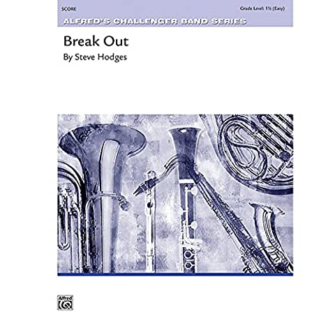 Alfred Break Out Concert Band Grade 1.5 Set - Expanded Percussion