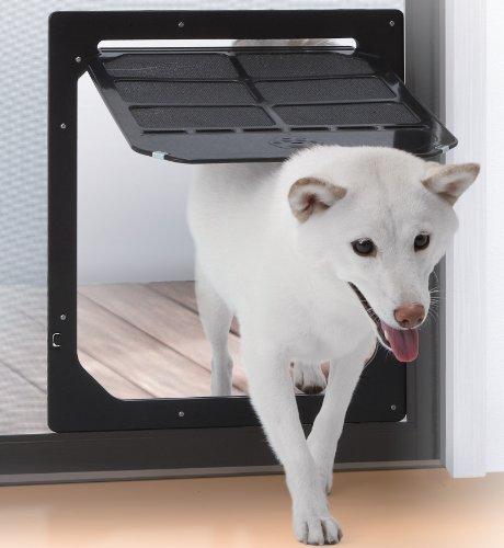タカラ産業 網戸専用 犬猫出入り口 Lサイズ(中型犬用) PD3742