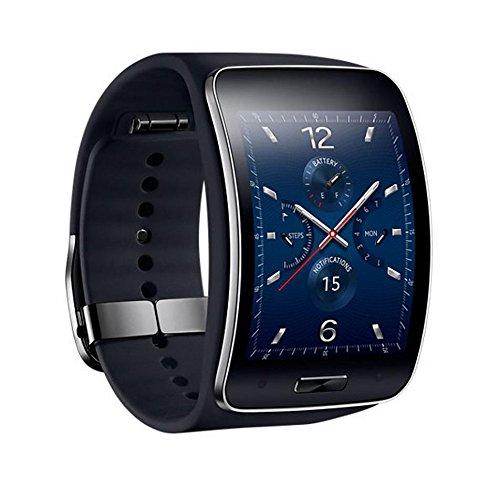 """三星 Samsung ギア S Gear S 2.0 """"カーブスーパーAMOLED360*480デュアルコア1.0 GHz Black【並行輸入品】"""