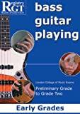 RGT - Bass Guitar Playing, Early Grades Book