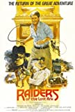 INDIANA JONES AND THE RAIDERS OF THE LOST ARK - HARRISON FORD - UK MOVIE FILM WALL POSTER - 30CM X 43CM