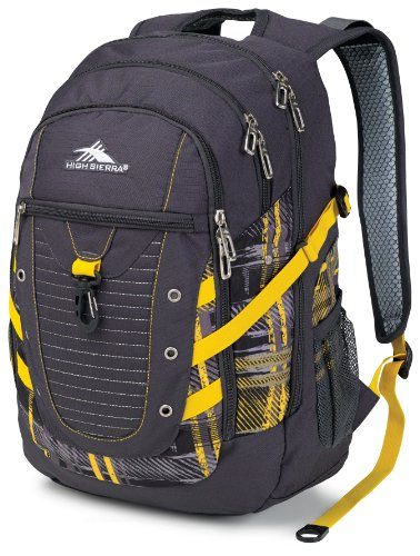 High Sierra Tactic Backpack, Yellow image