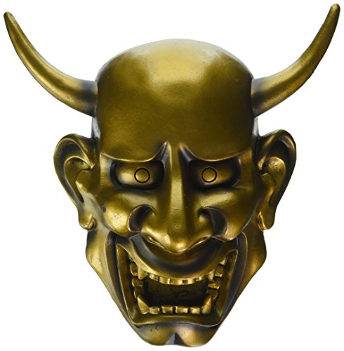 Design Toscano Noh Hannya Demon Mask: Halloween Wall Sculptures