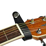 Acoustic Guitar Strap Button (Black)