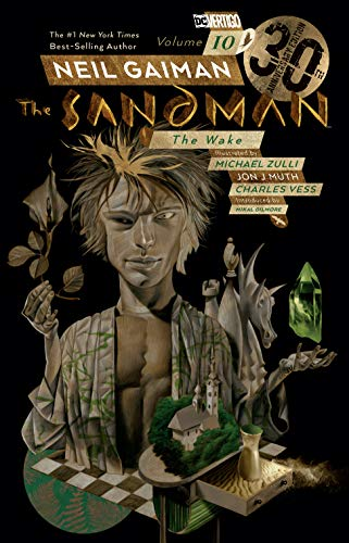 Sandman Vol. 10 The Wake 30th Anniversary Edition [Gaiman, Neil] (Tapa Blanda)