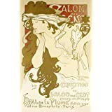 Poster of the Exposition of the Salon Des Cents, by Alphonse Mucha (Print On Demand)