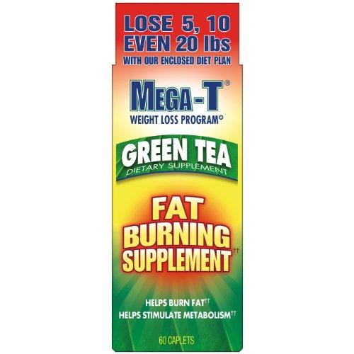 Mega-T Green Tea Dietary Supplement, 60 Ea