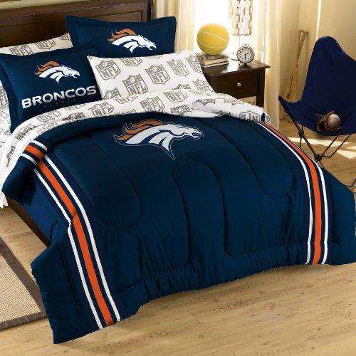 Nfl Denver Broncos Bedding Set, Full front-1070747