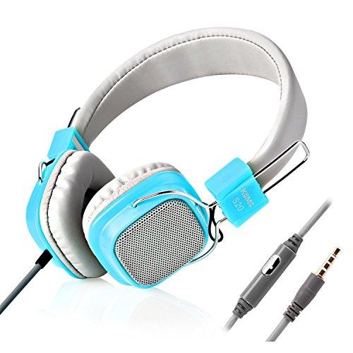 jelly-comb-casque-filaire-stereo-pour-enfant-avec-bandeau-reglable-bleu-et-gris