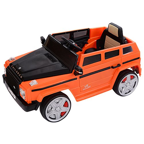Costzon 12V MP3 Kids Ride On Car Battery Power Wheels RC Remote Control w/ LED Lights