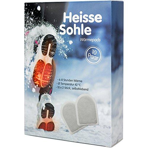 Image of Heisse Sohle Fußwärmer - 10 Paar Vorteilspack