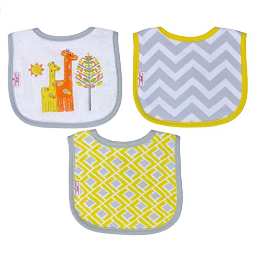 happy-chic-by-jonathan-adler-embroidered-applique-print-interlock-woven-terry-drooler-bib-set-yellow